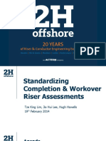 Standardizing Completion and Workover Riser Assessments