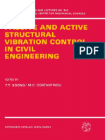 Passive and Active Structural Vibration Control in Civil Engineering-Springer-Verlag Wien (1994)