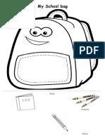 My Schoolbag_cut & Paste
