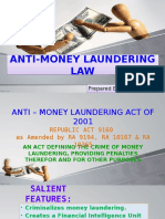 Anti – Money Laundering Law