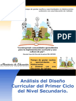 2016- Analisis Power Point- Diseño Curricular
