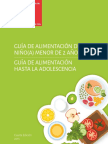 Guia Alimentacion Menores 2 Años Minsal 2016