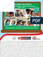 Educación Inclusiva Experiencias 2008