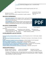 Resume DaltonAgency