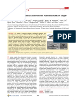 Free-Standing Mechanical and Photonic Nanostructures in Single- Crystal Diamond