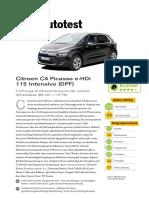 Citroen C4 Picasso e HDi 115 I