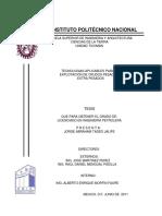 Tesis Explotacion de Crudo Pesado Mexico IPN