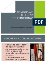 HEMORRAGIA DISFUNCIONAL