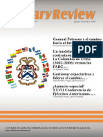 El Modelo Colombiano, Military Review