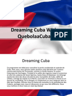 Dreaming Cuba French PPT