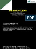 DEBRIDACIÓN