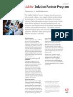 Adobe Solution Partner Program Datasheet