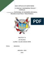 Informe N° 9 física