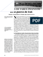 Fuerza de Tarea Phantom en Irak, Military Review