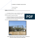 Informe Avance de Trabajos Caseta Piura 15