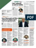 La Gazzetta dello Sport 22-04-2017 - Calcio Lega Pro