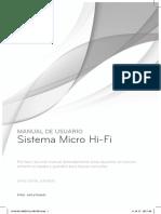 Manual Usuario de Sistema Micro Hi-Fi LG XA16 (XA16, XAS16F)