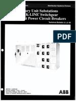 Kline Switchgear TB 3.1.2-1B