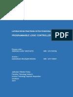 Laporan Praktikum Programable Logic Controller (Plc)