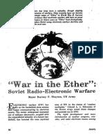 Guerra Radio-electrónica Soviética, Military Review