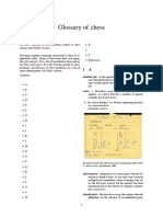 Chess Glossary