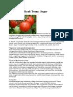 10 Manfaat Buah Tomat Segar