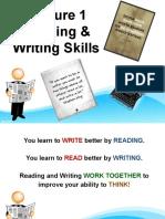 Lecture 1 Presentation for R&W Skills
