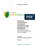 Histories of Transit Oriented Development Perspectives on the Development of the Tod Concept