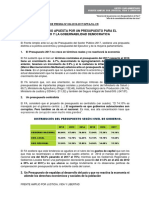 Np 034 Presupuesto Para El Desarrollo y La Gobernabilidad Democratica
