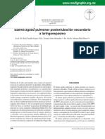 Art 2012 Edema agudo pulmonar postextubación secundario a laringoespasmo.pdf