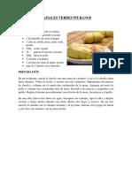 Tamales Verdes Piuranos