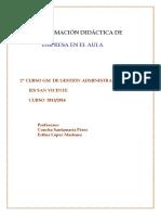 Programacion EmpresaEnElAula 2013 14