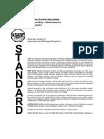 ANSI ASABE S362.2 JAN1983 (R2009)