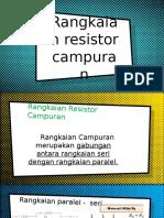 Campuran Resistor