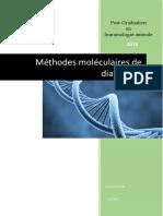 Les Méthodes Moléculaires de Diagnsotic