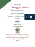 report on voltage doubler