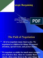 Strategic Bargaining