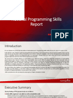 National Programming Skills Report - Engineers 2017 - Report Brief