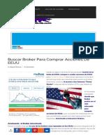 Buscar Broker Para Comprar Acciones de EEUU. Miguel Illescas