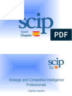Strategic and Competitive Intelligence Professionals - SCIP Spain Chapter Presentation Rubén Arcos