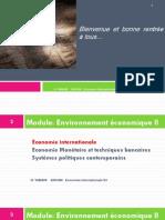 Economie Internationale S3 1ère Et 2ème Séances 2014 2015