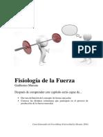 Fisiología de La Fuerza (UA, 2016)