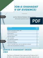 CLass 09 Qanoon e Shahadat(Law of Evidence)