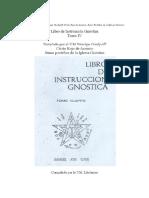 Libro de Instrucción Gnóstica Tomo IV Develado Por VM Principe Gurdjieff