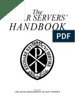 The Altar Servers' Handbook