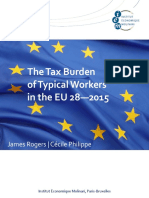 Tax Burden Eu 2015