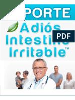 Reporte Adios Intestino Irritable