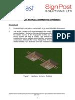 Optimast Installation Method Statement2