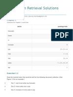 Information Retrieval Solutions Manual