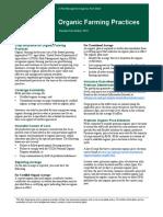 2016 Organics Fact Sheet